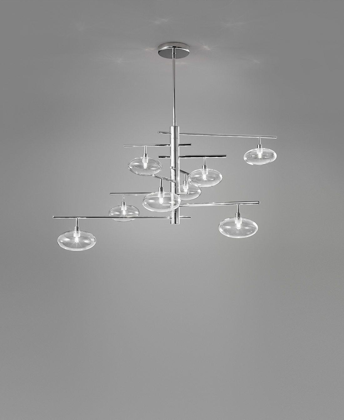Dolce Hanglamp 8 Lichtbronnen