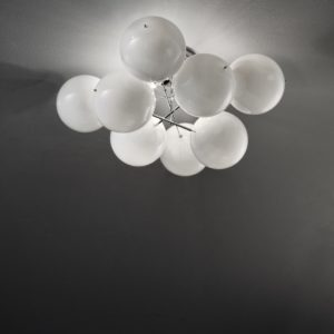 Atom Ø 55 cm Plafondlamp