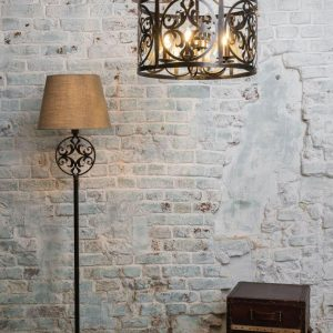 Rustika Vloerlamp